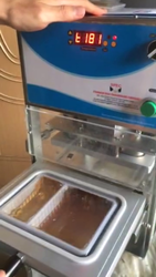 2 Portion Tray Sealing Machine