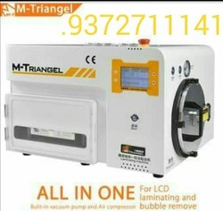 M-triangel mobile glass changing machine