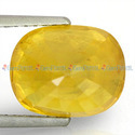 5.07 Carats Yellow Sapphire
