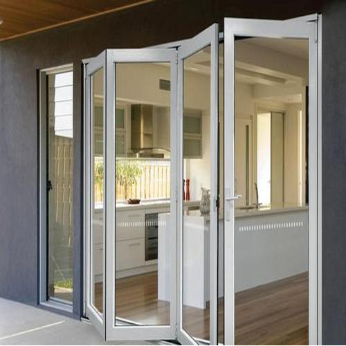 Folding Glass Door Doors And Windows Mega Technologies In Kalkaji