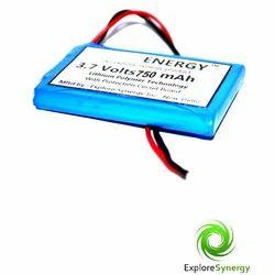 750 mAh Lithium Polymer Battery