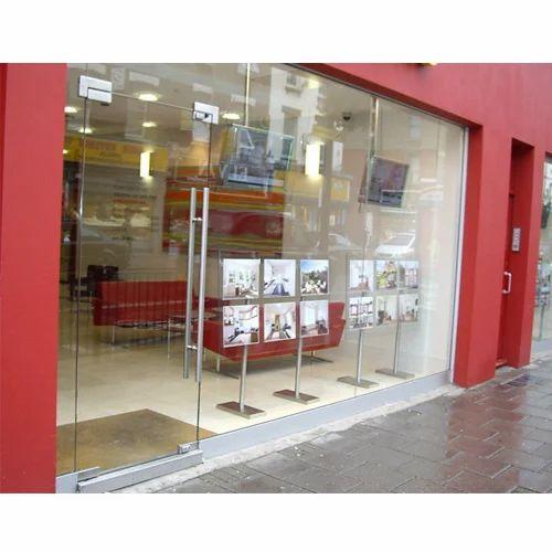 Aluglobe Shop Fronts Glass Doors Rs 295 Square Feet Aluglobe