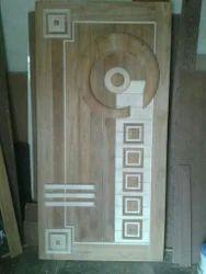 Amboze Teak Wood Door