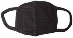 Black Cotton Dust Prevention Anti-Pollution Mask