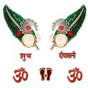 2 Designer Diya