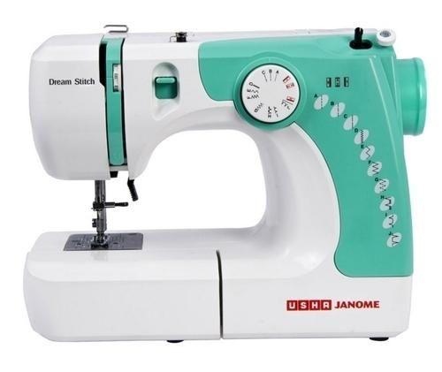 Usha Janome Dream Stitch Sewing Machine Green Usha Stitching Stunning Sewing Machine Dream