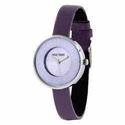 Round Women Swiss Trend Designer Ladies Watch Unique Gifting