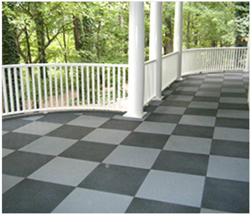 Balcony Rubber Flooring At Rs 70 Square Feet Rubber Floorings