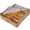 12 Pairs Shoes Storage Organizer Holder Intake Under Bed Clo