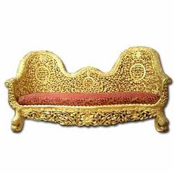 Designer Golden Sofa