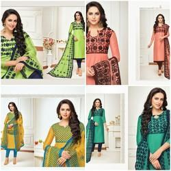 Dress material silk