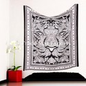 Large Indian Tiger Wall Hanging Tapestry