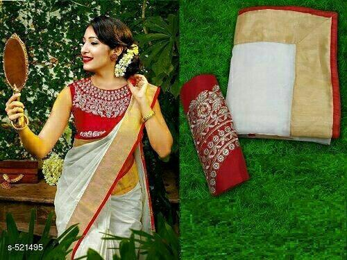 Border Cotton Saree