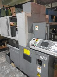 A20 CNC Lathe Swiss Head Machine