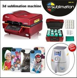 3D Sublimation Mugs & Phone Case Printing Machinery