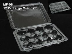003-MF06 12Pcs Muffin Box (Cup Cake Box)