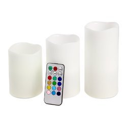 Remote Controlled LED Scented Candles