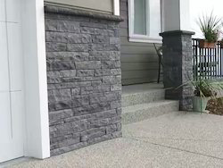 Lime Black Wall Stacking Stones