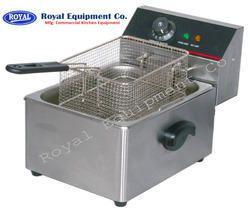 Electric Single Tank Deep Fryer