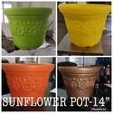 Sun Flower Pot 12