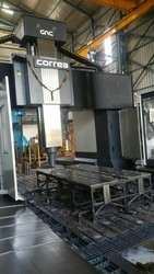 Double Column Machining Center Work
