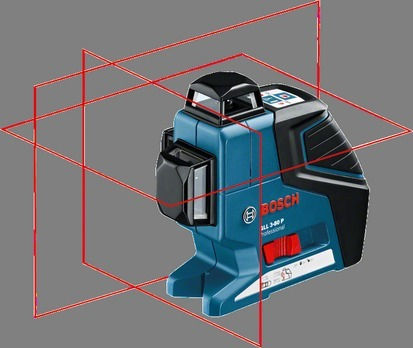 011b63cbfdd4d7 Bosch GLL 3-80 P Professional Line Laser Range Finder, Bosch ...