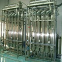 Automatic Injection Plant Water Multi Column Distillation Plant, Capacity: 50 Litres/hr To 3000 Litres/hr