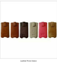 Leather Phone Sleeve Pouches