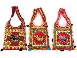 Cotton Emb Casual Wear Rajasthani Handmade Art Worked Bag