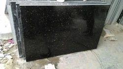 Black Galaxy Granite Slabs, Thickness: 5-10 mm