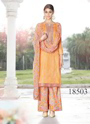 Fancy Salwar Suit with Plazzo