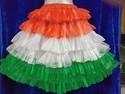 Tri Colour Skirt 6 Frills