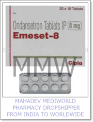 Packaging Type: Strips Tablets Ondansetron Medicine, 20 X 10