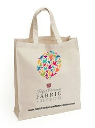 Cotton Canvas Fabric Shopping Bags