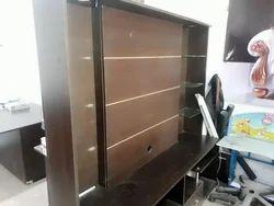 TV Rack With Storage