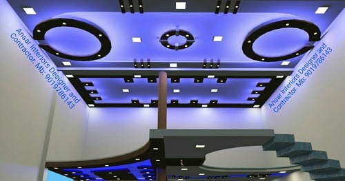 Living Hall Flash Ceiling Design Service In Bolar