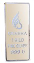 1 Kilo 999 Silver Mirror Finish Bar
