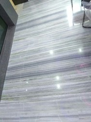 Green Makrana Dungri Marble Flooring, Thickness: 15-20 mm