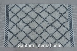 Cotton Moroccan Shag Rug