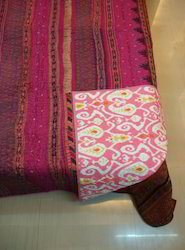 Patola Border Quilt Silk