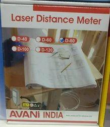 Red AVANi Laser Distance Meter, Model Name/Number: D-80