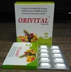 Multi Vitamins Minerals & Antioxidant Capsules