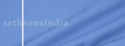 Blue Sethsons India Poly And Viscose Fabric, Gsm: 200-250 Gsm, For Clothing