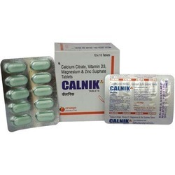 Calcium And Zinc Sulphate Tablets