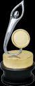Aluminium Attractive Figure Trophy