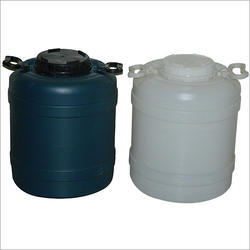 Black And Yellow Center Mouth Plastic Drum, Capacity (Litres) : 0 to 100