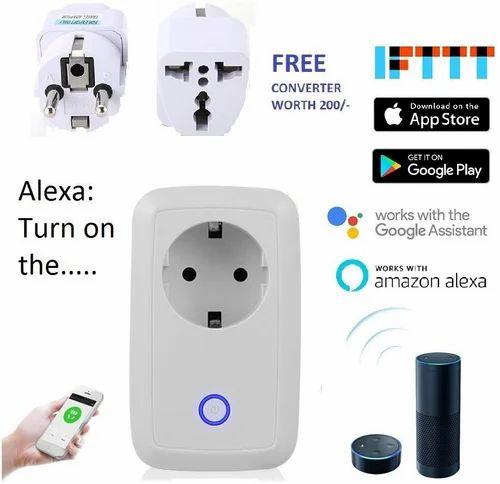 Ovibo Smart Wifi Wall Plug Switch Alexa Google Assistant, Wall Light ...