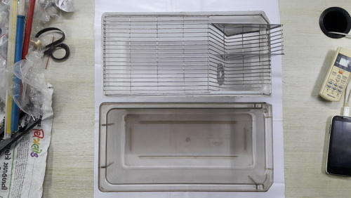 Laboratory Mice Cage Bin
