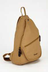 College Canvas One Side Backpack