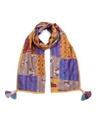 Vintage Silk Kantha Stoles